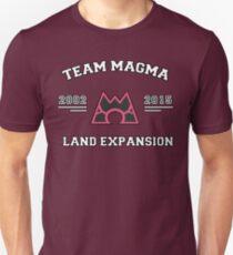 Team Magma - Land Expansion Slim Fit T-Shirt