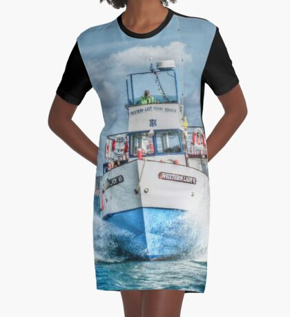 Look out - we're coming through! Graphic T-Shirt Dress