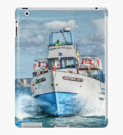 Look out - we're coming through! iPad Case/Skin