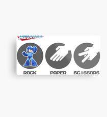 Rock Paper Scissors Metal Print