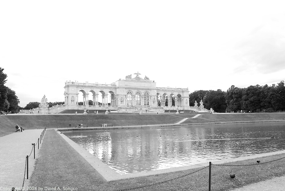 Schoenbrunn Palace by David Songco