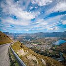 Spectacular Mountain Range from The Remarkable access road by Danielasphotos
