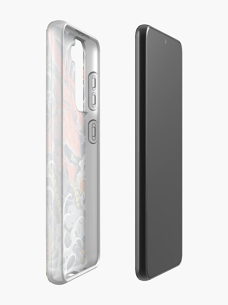 Alternate view of Sazabi Awesome Case & Skin for Samsung Galaxy
