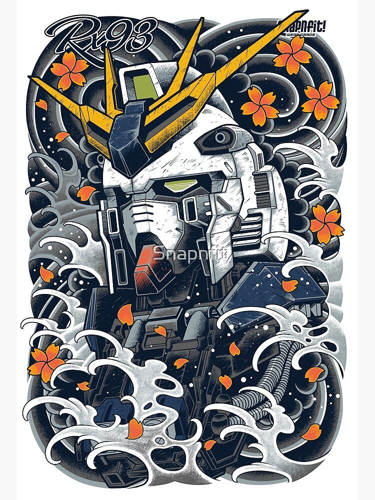 Nu Gundam Awesome by Snapnfit