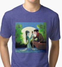Lady of the Lake Tri-blend T-Shirt