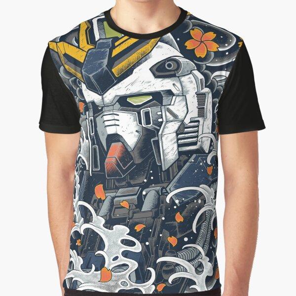 Nu Gundam Awesome Graphic T-Shirt