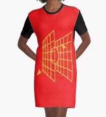 Millennium-falcon Targeting Computer Apparel Graphic T-Shirt Dress