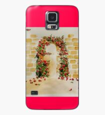 Arch with bougainvillea.  Case/Skin for Samsung Galaxy