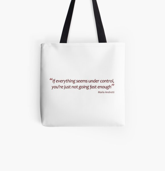 Not going fast enough... (Amazing Sayings) All Over Print Tote Bag