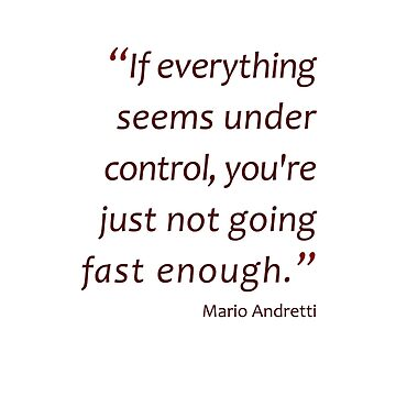 Not going fast enough... (Amazing Sayings) by gshapley