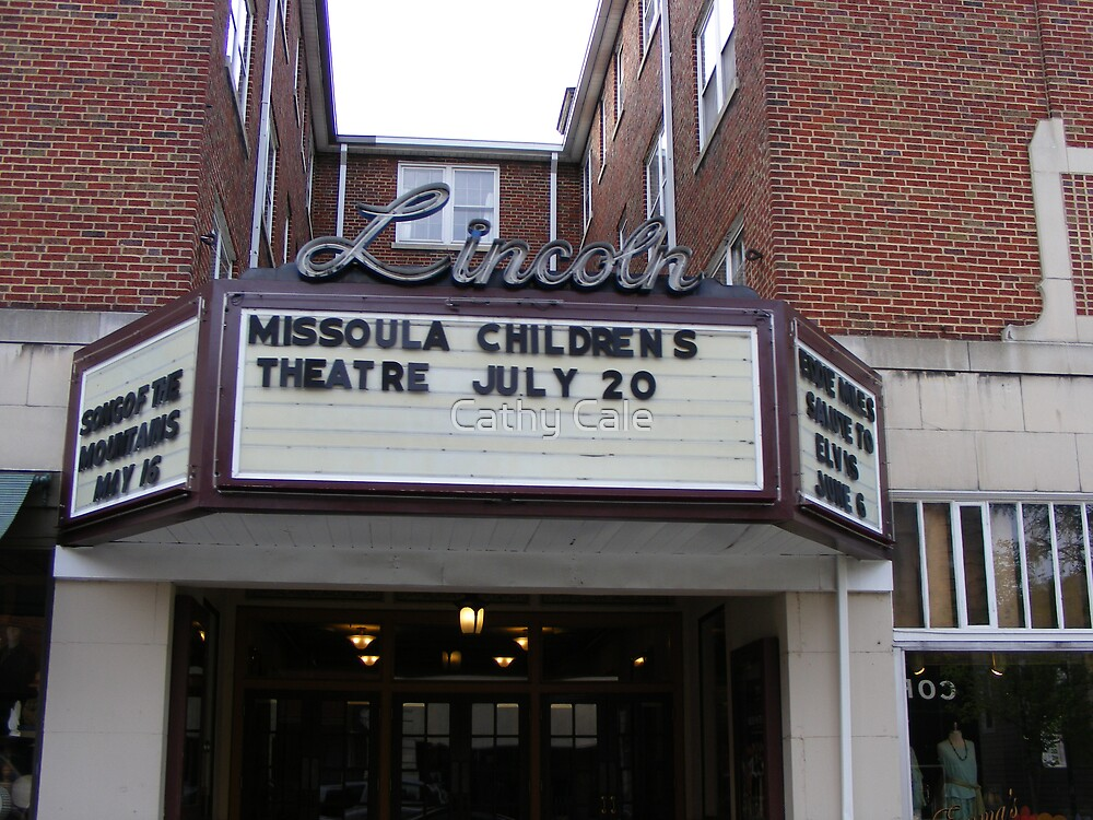 Lincoln Theater by Cathy Cale