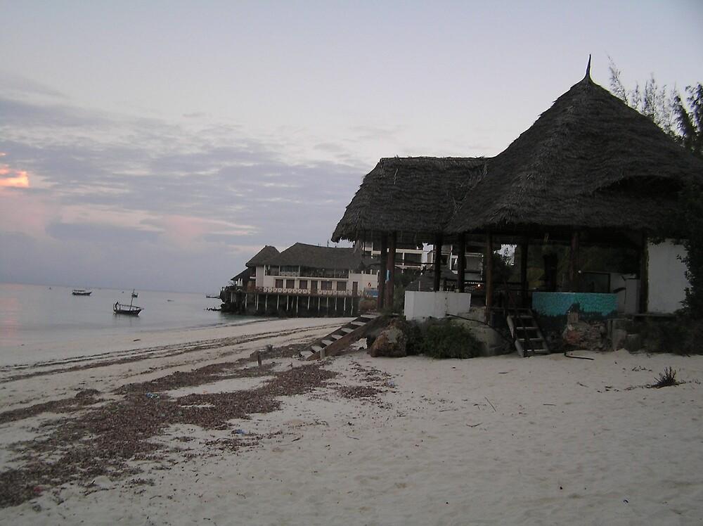 Nungwi Beach Zanzibar by Kellie Scott