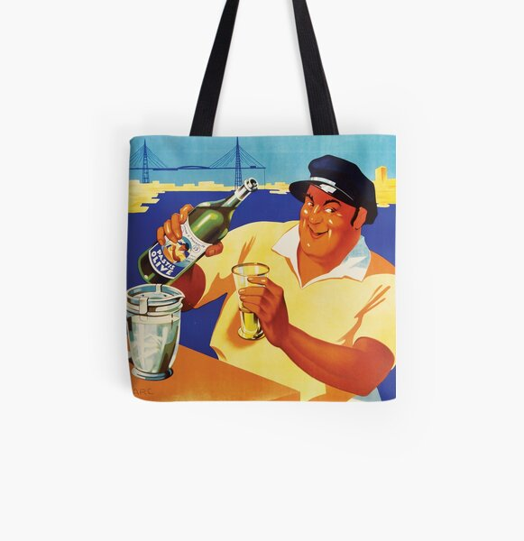 Pastis Olive Classic Vintage Poster All Over Print Tote Bag