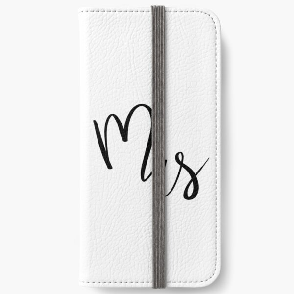 Mrs by Alice Monber iPhone Wallet
