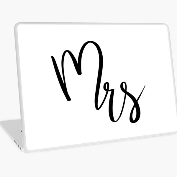 Mrs by Alice Monber Laptop Skin