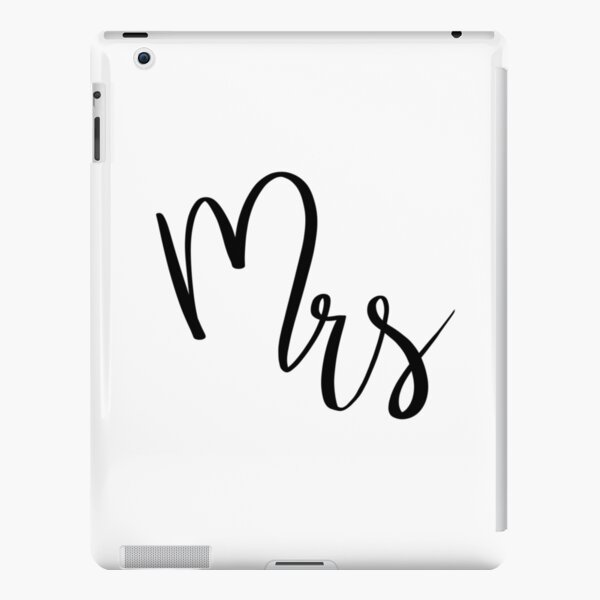 Mrs by Alice Monber iPad Snap Case