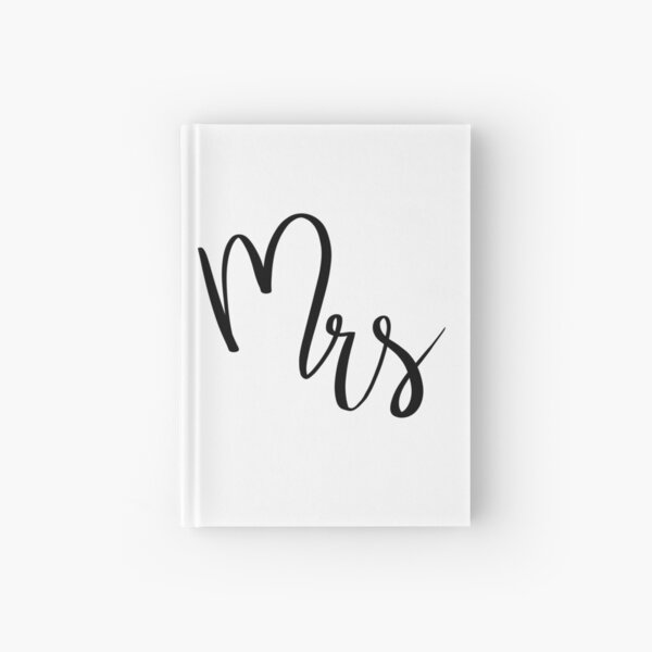 Mrs by Alice Monber Hardcover Journal