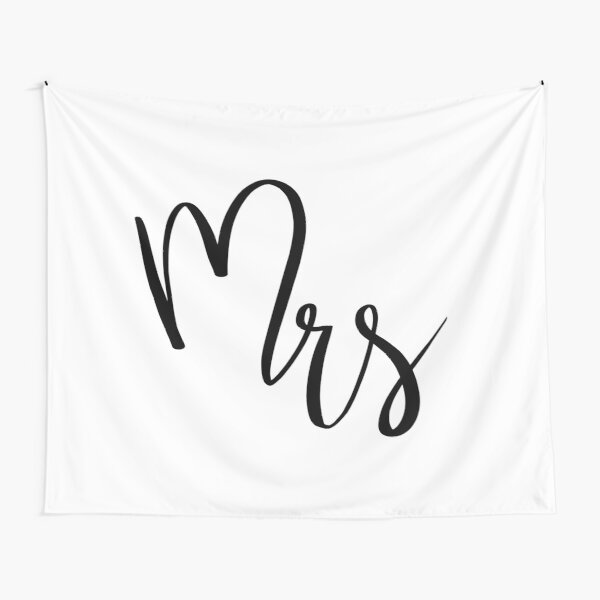 Mrs by Alice Monber Tapestry
