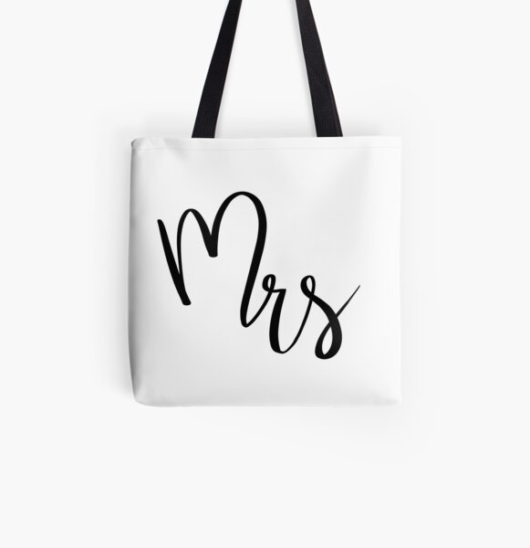 Mrs by Alice Monber All Over Print Tote Bag