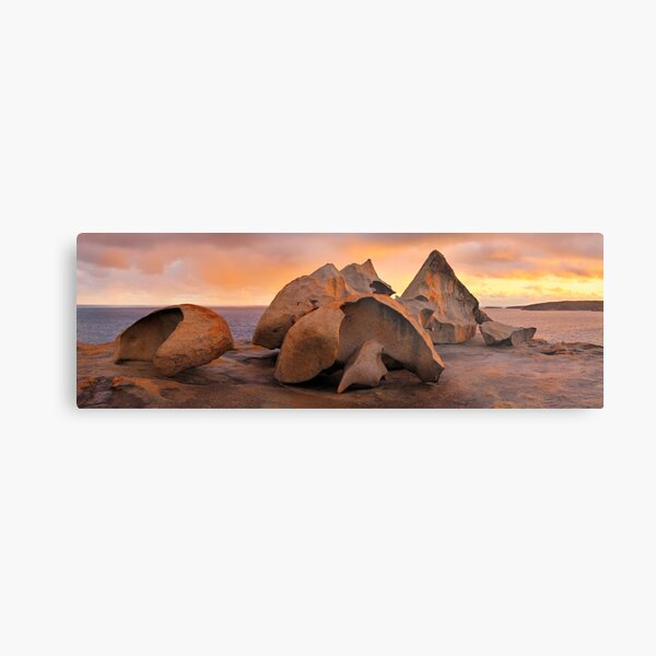 Remarkable Rocks Sunset, Kangaroo Island, South Australia Metal Print