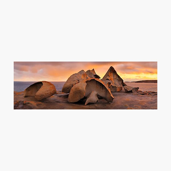 Remarkable Rocks Sunset, Kangaroo Island, South Australia Photographic Print