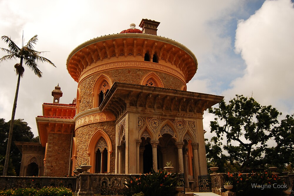The Palace of Monserrate by Wayne Cook