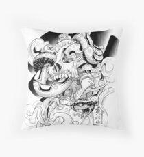 Poison Candy Throw Pillow