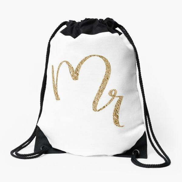 Mr. by Alice Monber Drawstring Bag