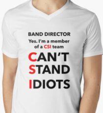 BAND DIRECTOR Men's V-Neck T-Shirt