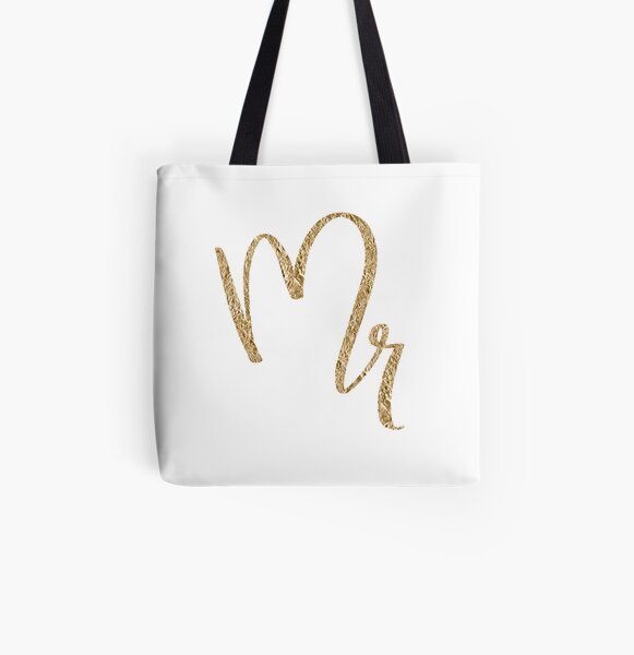 Mr. by Alice Monber All Over Print Tote Bag