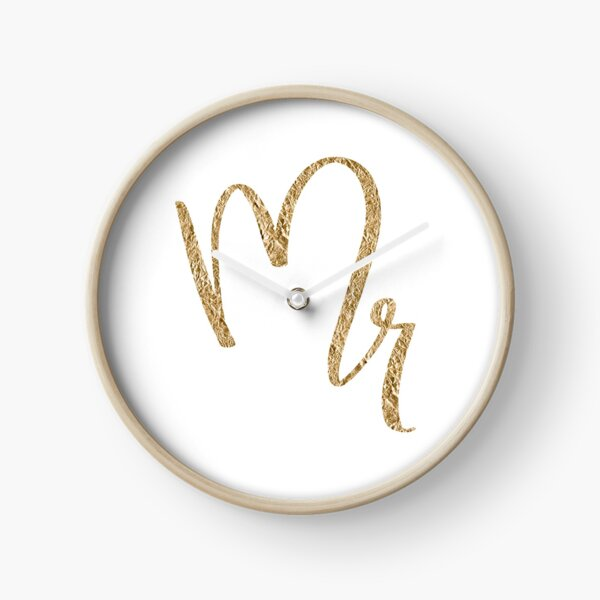 Mr. by Alice Monber Clock