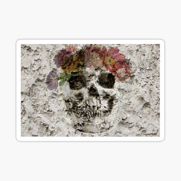 Skull Bouquet Sticker