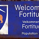 Welcome to Fortitude Rusty Sign - Fortitude T-shirt by Rory1973