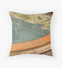 Sydney Cove Dial Throw Pillow