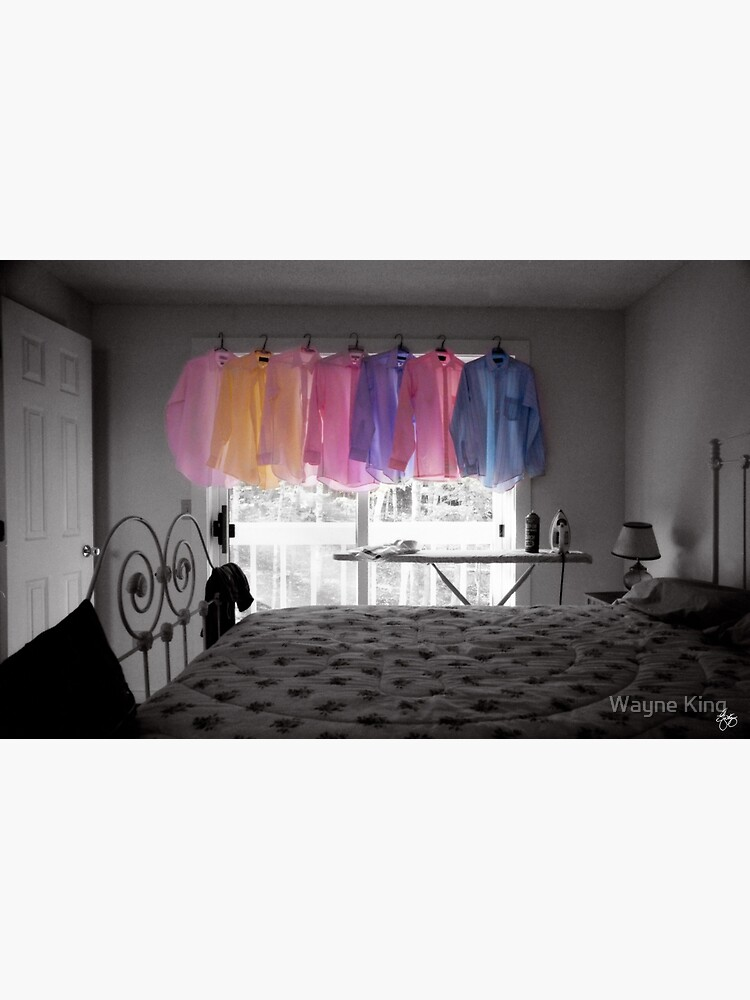 Ironing Adds Color to a Room by waynedking