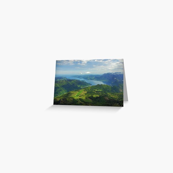 Attersee from Schafberg Greeting Card