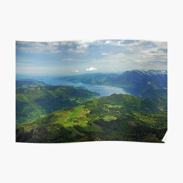 Attersee from Schafberg Poster