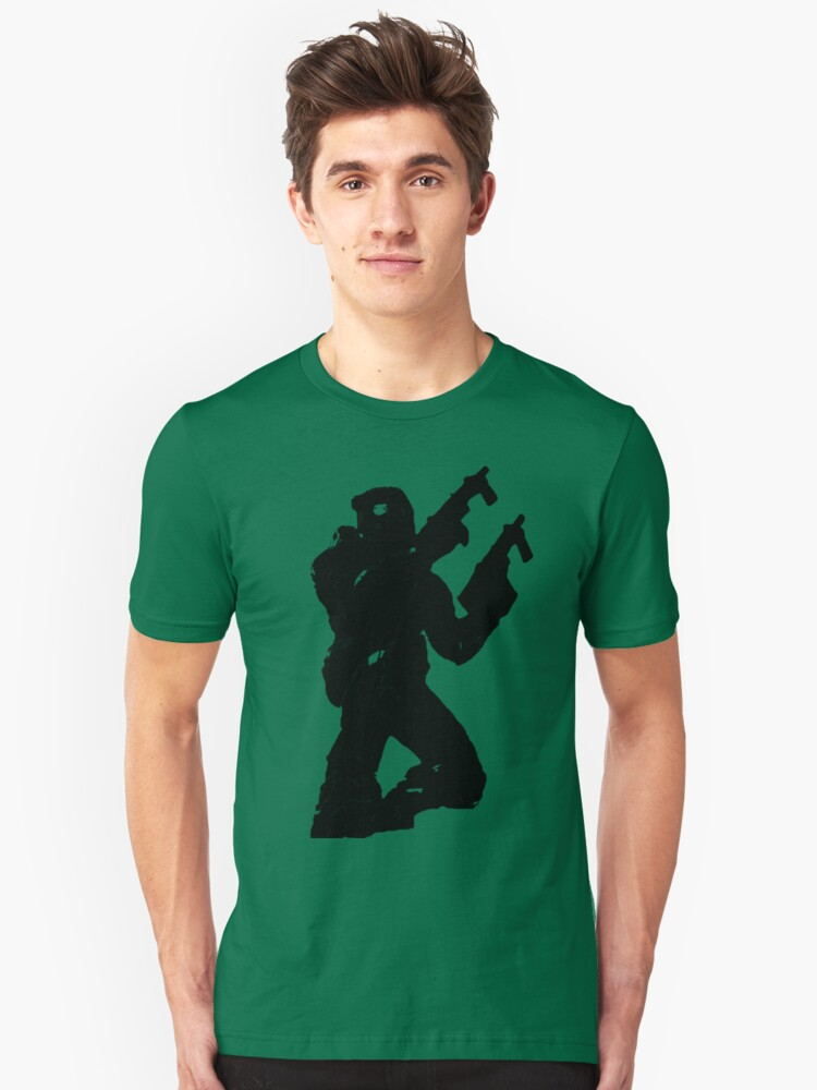Master Chief Silhouette by Swisskid