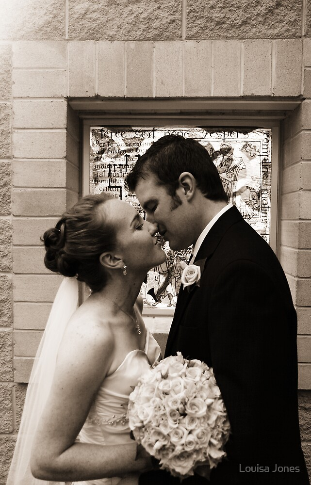 Church Kiss by Louisa Jones
