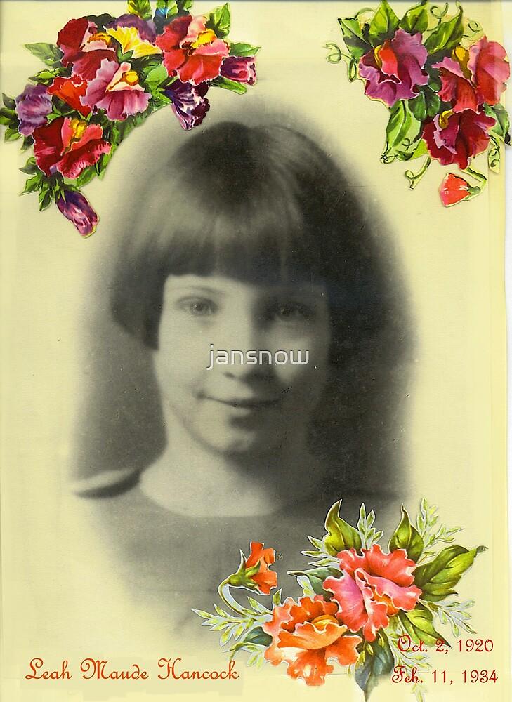 My Aunt Leah © by jansnow
