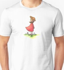 Girl with a hat Unisex T-Shirt