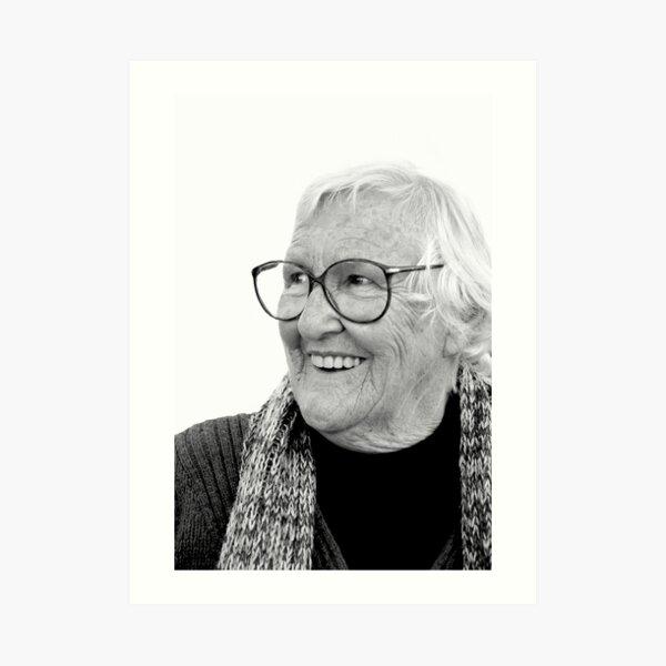 Portraits: My Grandmother, the Bega Cheese lady Art Print