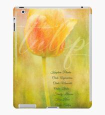 Tulip Classification iPad Case/Skin