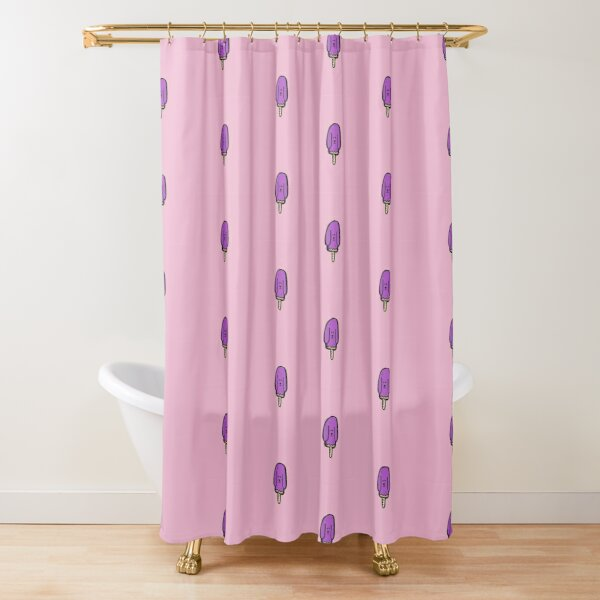 Pupcicle Shower Curtain
