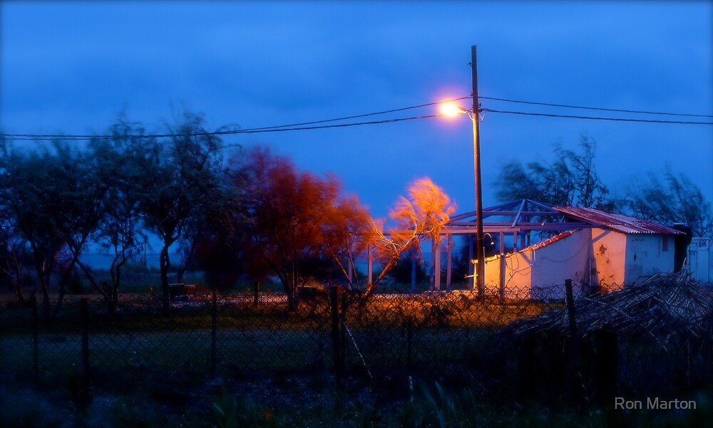 Windy Twilight by Ron Marton