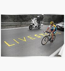 LANCE ARMSTRONG - LIVESTRONG Poster