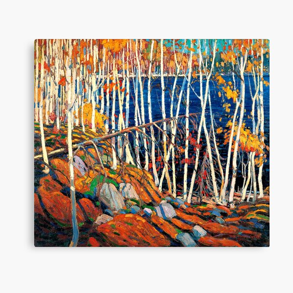 In the Northland, Tom Thomson painting Canvas Print
