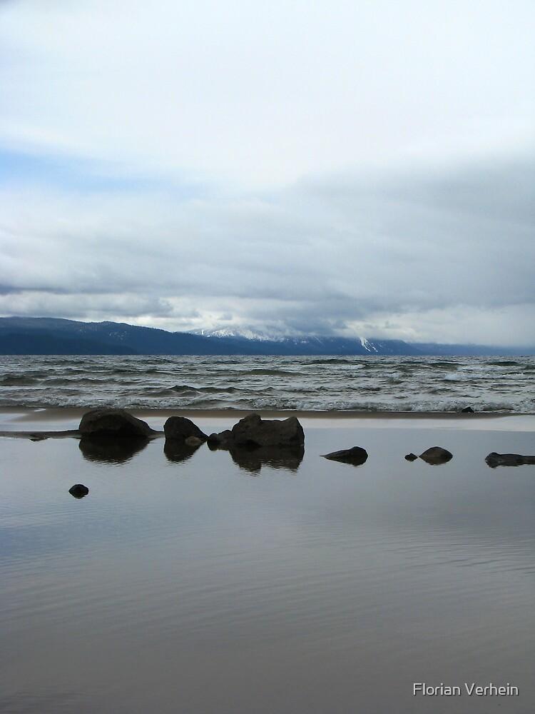 lake tahoe reflections by Florian Verhein