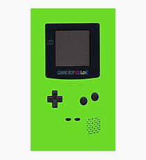 green game boy Photographic Print