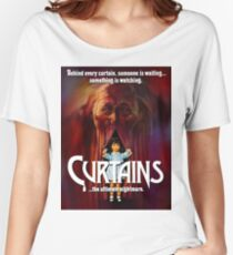 CURTAINS Women's Relaxed Fit T-Shirt